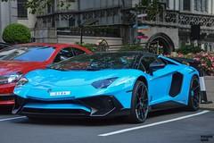 Baby Blue (Beyond Speed) Tags: lamborghini aventador sv superveloce super veloce roadster supercar supercars automotive automobili nikon v12 london dorchester