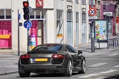 Audi R8 (Alexandre Prvot) Tags: auto france cars car sport automobile european parking transport automotive voiture route exotic nancy lorraine 54 supercar luxe berline exotics supercars ges 54000 dplacement meurtheetmoselle worldcars grandestsupercars