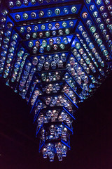 Glass chandelier of Edo Kiriko (yamabuki***) Tags: dsc1708