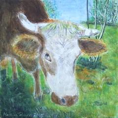 Cow Daisy - Kuh Daisy (Matthias Talmeier) Tags: acrylic acryl daisy