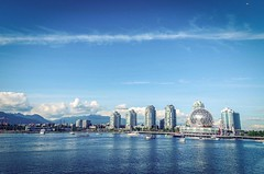 The Day In Olympic Village - Vancouver, Canada (溫哥華, 加拿大) (dlau Photography) Tags: vancouver canada 溫哥華 加拿大 olympicvillage 奧運村 奧運 奥运村 奥运 travel tourist vacation visitor people lifestyle life style sightseeing 游览 遊覽 trip 旅遊 旅游 local 当地 當地 city 城市 urban tour scenery 风景 風景 weather 天氣 天气 outdoor 户外 cloud 云 雲 sky 天空 skyline 天際線 天际线 landscape flickrunitedaward nikonflickraward soe smallplane 小型飛機 飛機 小型飞机 飞机 astoundingimage 攝影發燒友