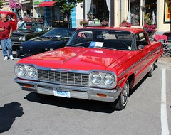 1964 Chevrolet Impala SS SS hardtop (carphoto) Tags: 1964chevroletimpalass2doorhardtop supersport 2016lindsayclassicsonthekent richardspiegelmancarphoto