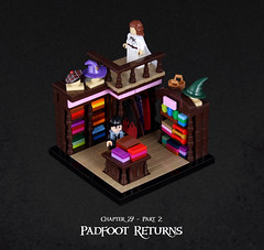 Harry Potter and the Goblet of Fire 22 (Xenomurphy) Tags: lego moc bricks harrypotter gobletoffire rowling muggle magic weasley hermione malfoy voldemort hogwarts hogsmeade slytherin hufflepuff gryffindor ravenclaw quidditch