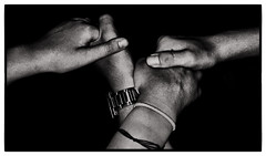 Connection (josephhoward.jh24) Tags: shadow amature iphone friendship passion love hold link connect dark relationship bw blackandwhite hands