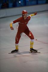 A37W7272 (rieshug 1) Tags: speedskating schaatsen eisschnelllauf skating nkjunioren knsb nkjuniorenallroundafstanden afstanden allround 50010001500massstart demeent alkmaar sportcomplexdemeent juniorenc ladies dames 500m