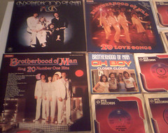 1976-1981 Brotherhood Of Man : (Retro King) Tags: 1976 brotherhood of man 1977 records 1980 albums lps vinyl 1981 pop