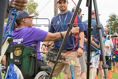 20160919_nvssc_day-2 (42) (U.S. Department of Veterans Affairs) Tags: summer sports clinic adaptive sandiego therapy sport archery chula vista olympic training center