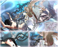 Chained to the First Kiss {Dystopia Ed} 01 (eve.studio (Noke Yuitza)) Tags: roquai secondlife eve lostfound 100originalmeshdesign roses chains dystopia
