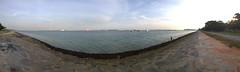 Marina Bay South (SmartFireCat) Tags: marina bay south sur sea mar mer see pier ship ships singapore singapur singapura baha buque muelle costa coast reclaimed land reclamado tierra reclamada
