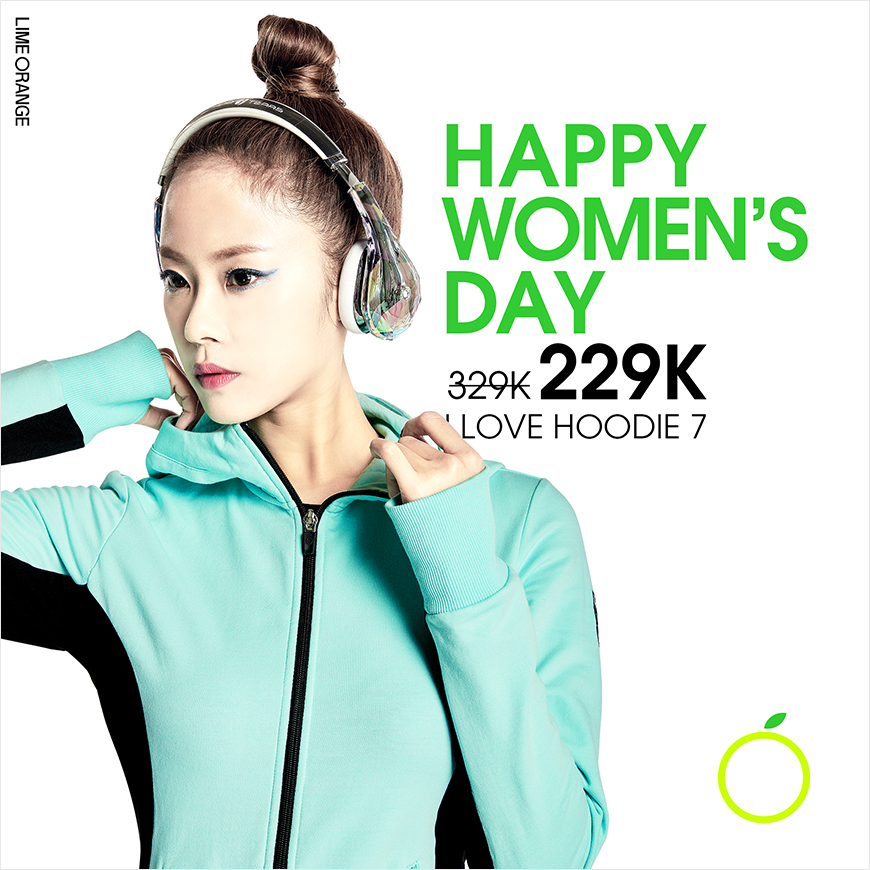 HAPPY WOMAN'S DAY - I LOVE HOODIE 7