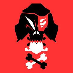 86Turbo (B-86Turbo) Tags: digital logo skulls design vectorart illustrator 2d logodesign 2015 b86turbo