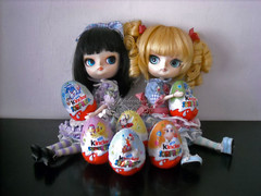 Annie & Candy ~ DSCN96668_Dal_Sooni_Edge_ (applecandy spica) Tags: pink blue red orange cute rabbit bunny green yellow easter doll sheep chocolate country egg duckling lavender dal kinder chick lilac edge surprise loli eggs ladybug pullip custom hen sorpresa ovetto pasqua sooni