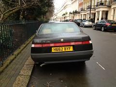 1991 Alfa Romeo 164 V6 Turbo 2Litre abandoned and neglected (mangopulp2008) Tags: abandoned neglected turbo alfa romeo 164 1991 v6 2litre