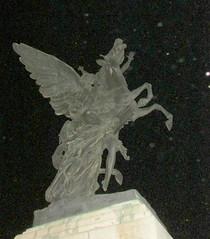 (sftrajan) Tags: sculpture horse méxico night pegasus escultura mexicodf distritofederal palaciodebellasartes ciudaddeméxico wingedhorse querol agustínquerol agustínquerolysubirats agustíquerol