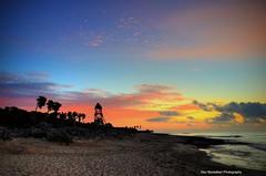 sunrise walk on the beach (Rex Montalban Photography) Tags: sunrise mexico playadelcarmen hdr mayanriviera mayanpalaceresort rexmontalbanphotography