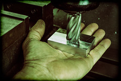 Hand Work (TomBenedict) Tags: mill flat utata handwork machining holgafilter ironphotographer212 utata:project=ip212