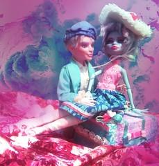 Una & Daz (RisaRainStorm) Tags: cute monster high doll dolls kawaii una custom daz varx lizzelle monsterhigh