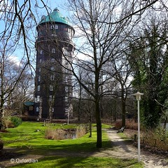 Hamburg-Wilhelmsburg - water tower (oxfordian.world) Tags: hamburg watertower wasserturm norddeutschland northgermany wilhelmsburg oxfordian lumixlx7 oxfordiankissuth stadtfoto hamburgstreetview