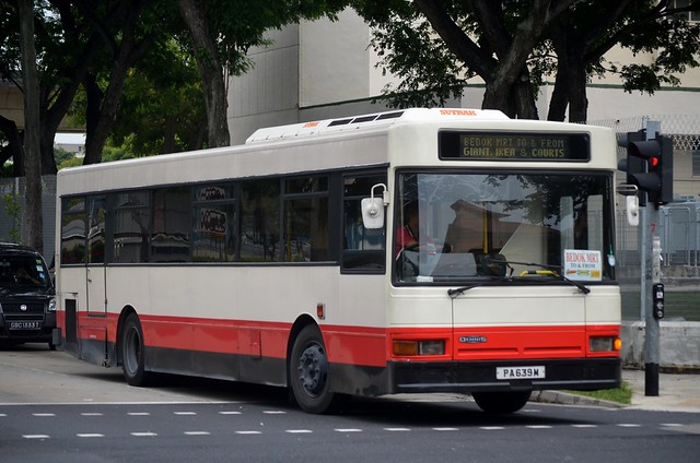 SMRT Buses Dennis Lance Duple Metsec