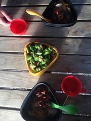 Repas gastronomiques en camping