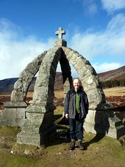 Sunny day, the Queen's Well (Beth M527) Tags: mountains scotland angus wells peter springs angusglens cairngormsnationalpark 2015 glenesk memorialsmonuments