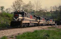 MGA 2310 at Homeville, PA (dl109) Tags: b237r monongahelarailway