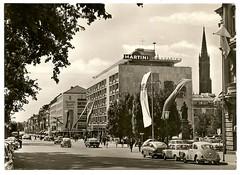 wiesbaden - die wilhelmstrasse mit der marktkirche (hansaviertel) Tags: wiesbaden