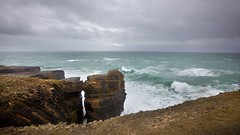 The Hungry Sea (Michael Foley Photography) Tags: county ireland sea clare cliffs countyclare doonbeg loophead