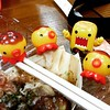 Sunny eats takoyakichus?? 89/365 (Pilibilli) Tags: square delicious squareformat domokun ludwig takoyaki kawaiikon toyphotography 365project iphoneography takochu domoqee instagramapp uploaded:by=instagram