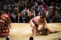 Sumo in Osaka-33 (Rodrigo Ramirez Photography) Tags: japan amazing traditional professional tournament osaka sumo yokozuna ozeki makuuchi hakuho sumotori sumotournament maegashira reikishi harumafuji topdivision