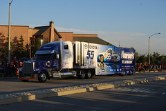 Brian Vickers/Brian Moffit Number 55 (cjacobs53) Tags: auto county wheel gardens club truck fan san colorful bass brian victoria parade event nascar toyota shops pro trailer jacobs 55 fontana camry rancho moffitt speedway bernardino aarons vickers cucamonga hauler claifornia jacobsusa