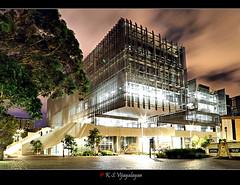 Night (vijayalayan) Tags: longexposure night australia melbourne vic universityofmelbourne
