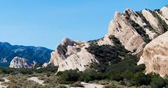 the mormon rocks in cajon valley