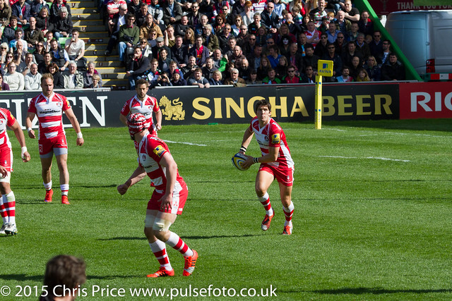 Quins 29 Gloucester 26 11th April 2015 Aviva Premiership