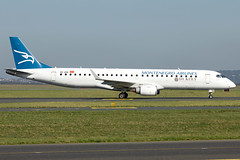 4O-AOA (Yan David) Tags: paris de charles gaulle airlines montenegro embraer erj190200lr 195lr 4oaoa