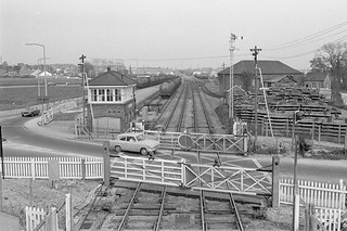 Wareham station (2), 1974