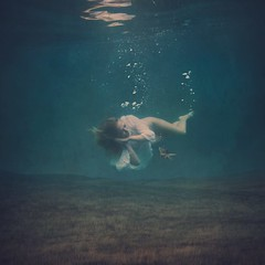 the dreaming field (brookeshaden) Tags: storm reflection hawaii poetry underwater surrealism calm dreams imagemanipulation fineartphotography sleepingunderwater brookeshaden thedreamingfield