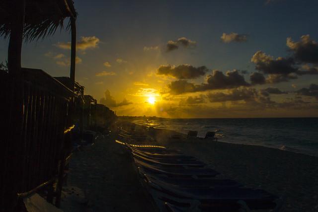 Coucher de soleil et plage - Sunset, & beach