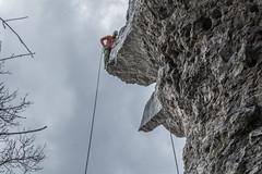 Kamel (evolvingLight) Tags: mountain nature berg sport rock germany climb outdoor adventure climbing fels rappelling klettern ith rappeling abenteuer