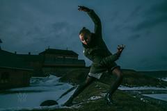 Winter reprise w/ Iida (Pasi Vhnen photography) Tags: winter ballet castle beauty dance spring lowkey