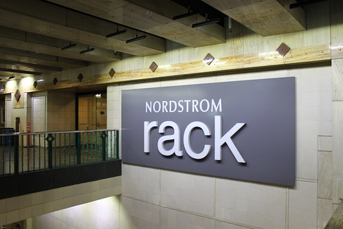 Nordstrom Rack entrance at Westlake Stat by SounderBruce, on Flickr