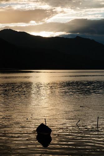 Boat on Phewa Lake