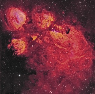 The Cat's Paw Nebula, NGC 6334