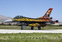 92-0014_F-16C_TurkishAF_KYA [Explored] (Tony Osborne - Rotorfocus) Tags: turkey force martin general air tiger f16 tai falcon fighting lockheed viper meet dynamics turkish nato filo 192 konya 2015 f16c