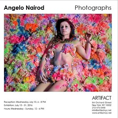 Hello everybody! I m very very happy to announce that there will be my first solo exhibition in New York City, 84 Orchard street.  More info: https://m.facebook.com/artifactnyc/ (Angelo Nairod) Tags: