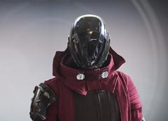 Space Magic (Tsabo Tsaboc) Tags: destiny warlock cosplay obsidian mind exotic iron helmet armor impact props rtx