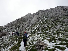 Bottleneck (markhorrell) Tags: italy walking abruzzo gransasso apennines pizzocefalone