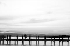 beauty from within (kimblomqvist) Tags: sunset sundown sunlight sun sky clouds cloudscape pier beautiful silhouettes silhouette people person ocean water sea seascape shore shoreline summer warm verano temar mer