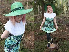 Forest Witch is Disappointed by Lindwormmm, 25 year old Art student from Turku, Finland (9lookbook.com) Tags: 90skid androgynous autumn blackandwhite boyfriends cartoon colorblocking colorful creepycute cute dark dolly fairy fan floral girly moomin oversized pastel picnic playful rainbow secondhand spring summer twee witch fun