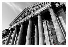 The Parliament of the Federal Republic of Germany - Berlin (mikael.heinrichson) Tags: mikaelheinrichson panasonic dmcfz200 blackwhitepassionaward flickrtravelaward flickrunitedaward